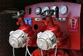 Fire Truck Control Panel