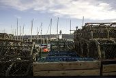 Scarborough Lighthouse Through The Lobster Pots