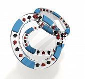 Transparent Poker Chips
