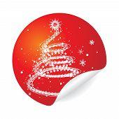 Постер, плакат: Рождественская елка нападающий