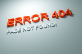 stock photo of not found  - An image of an Error 404  - JPG
