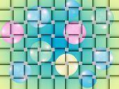 Basketwork pattern.