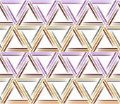 Seamless triangle pattern. Geometric abstract texture