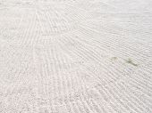 Abstract Background : Sand Texture Backbround From Golf Course