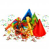 Colorful Carnival And Birthday Party Decoration