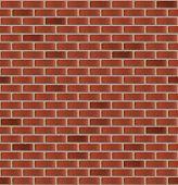 Simple seamless brick wall