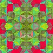 Modern Psychedelic Pattern
