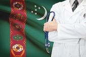 picture of turkmenistan  - Concept of national healthcare system  - JPG