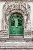 Green Door Art Nouveau