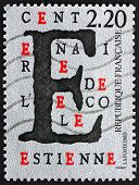 Postage Stamp France 1989 Estienne School, Centenary