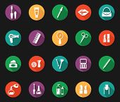 Colorful Hygiene and Grooming Graphic Symbols