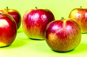 Five apples