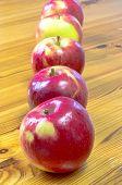 Five Ripe Apples