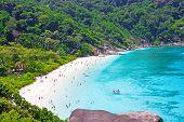 Top View Of Similan Island. Thailand