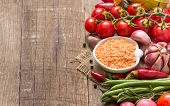 Red Lentils And Vegetables