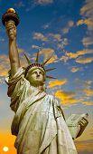 Statue of Liberty  - sunrise