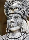 Portrait Of Mayan Warrior
