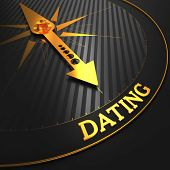 Dating - Golden Compass Needle.
