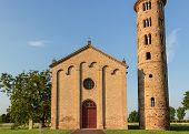 Italian Medieval Countryside Church