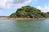 green island in Sai Kung, Hong Kong