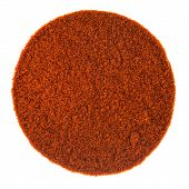 Red Spicy Pepper Powder Texture