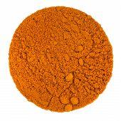 Turmeric Powder Macro Texture