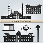 Ankara Landmarks And Monuments