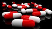 Medical Pills. Depth Of Field.