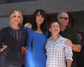 LOS ANGELES - SEP 9:  Christina Applegate, Katey Sagal, David Faustino, Ed O'Neill at the Katey Saga
