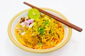 northern style curried noodle soup