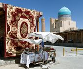 Carpet Market In Bukhara