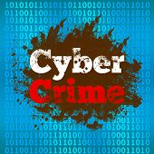 Cyber Crime Binary Background
