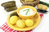 Potatoes And Curd