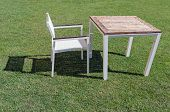 Garden Chair And Table