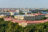 Admiralty Building In St. Petersburg