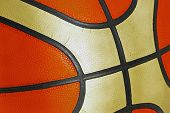 Detail Structure Of The Training Basketball.