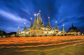 Wat Asokaram, Sumutpakran , Thailand