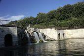 Caserta Royal Palace Garden fountains