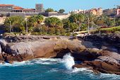 Bay In The Coast Of Tenerife. Canaries, Spain.
