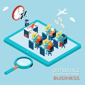 Outsource best professionals for your business. Global Work Marketplace in Web