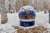Advent in Zagreb on Zrinjevac park