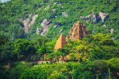 Po Ngar Cham Towers In Nha Trang, Vietnam