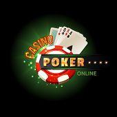 Casino poker online poster