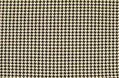 Black and brown houndstooth pattern.