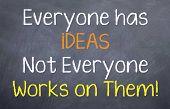 Everyone has iDEAS..