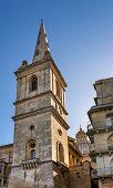 Saint Paul's Anglican Cathedral And Carmelite Church In Valletta, Malta