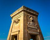 Fortified Tower In Gardjola Gardens, Malta