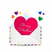 Valentines lgbt card