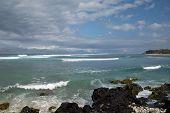 Lagoon in Reunion Island