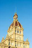 A Coruna Town Hall In A Coruna, Spain.